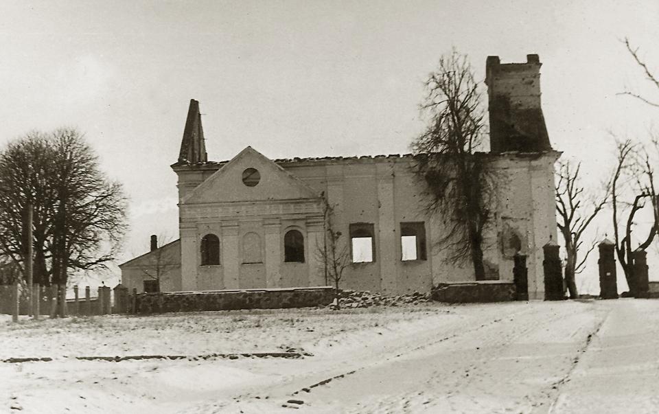 Kościół św. Idziego w okresie okupacji