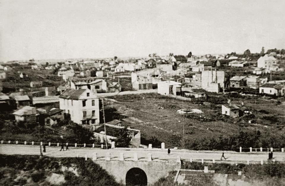 Wyszkowska struga w 1944 roku
